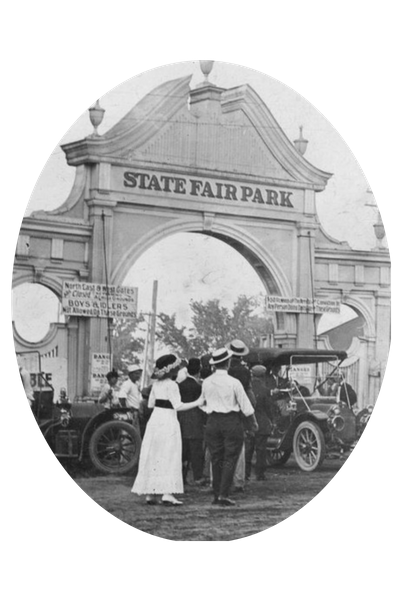 WI State Fair Park image from 1900s